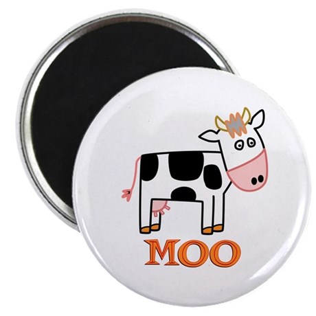 "Cow 2.25"" Magnet (10 pack)"