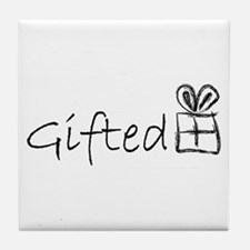Cute Gifted and talented Tile Coaster