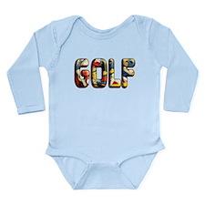 GOLF Long Sleeve Infant Bodysuit