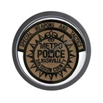 Nashville Police SWAT Wall Clock