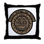 Nashville Police SWAT Throw Pillow