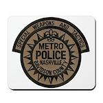 Nashville Police SWAT Mousepad