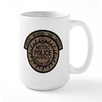 Nashville Police SWAT Large Mug