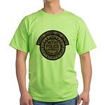 Nashville Police SWAT Green T-Shirt