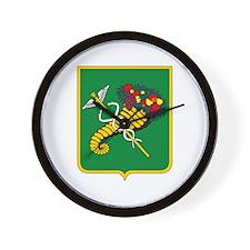 Khakov Coat of Arms Wall Clock