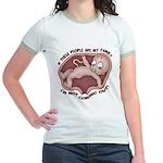 Familiophobia Jr. Ringer T-Shirt