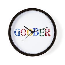 Goober Rainbow Wall Clock