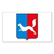 Ufa Coat of Arms Rectangle Decal