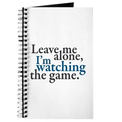 Leave Me Alone Watching Game Journal