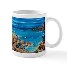 Mermaid tending to her fish Mug