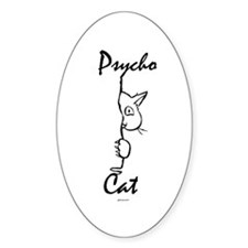 Psycho Cat - Decal