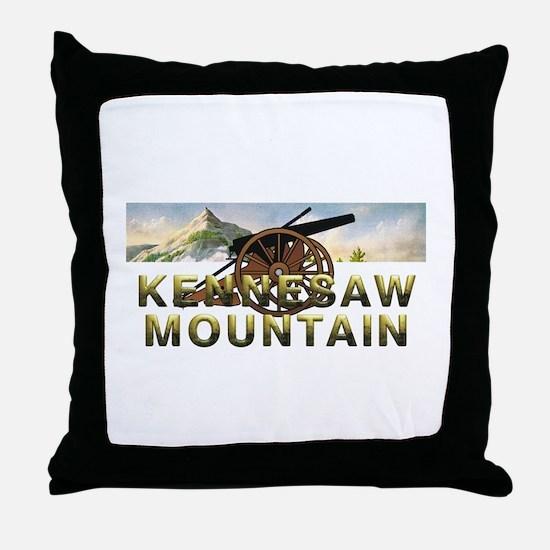 ABH Kennesaw Mountain Throw Pillow