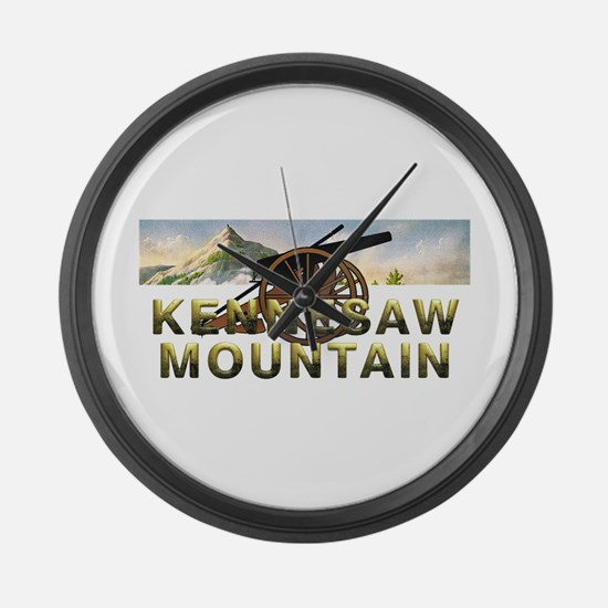 ABH Kennesaw Mountain Large Wall Clock