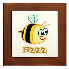 Bee Framed Tile