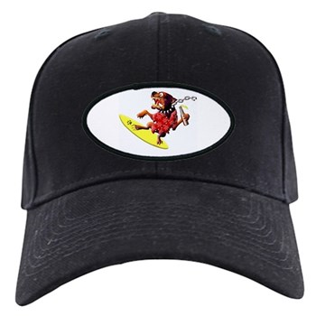 Surf Dawg Black Cap