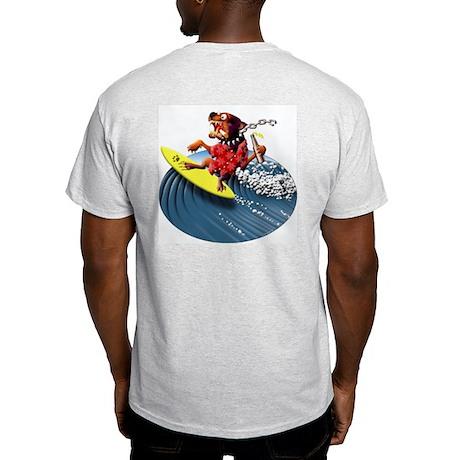 Wagner Surf Dawg Ash Grey T-Shirt