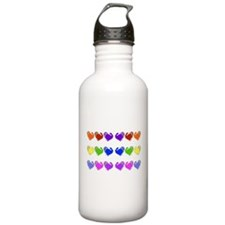Rainbow Thanksgiving T Water Bottle