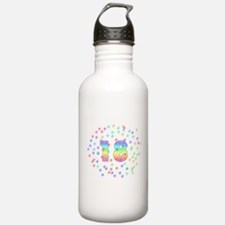 18th Birthday Pastel Stars Water Bottle