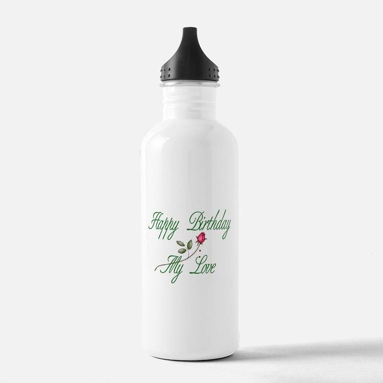 Lover Birthday Water Bottle