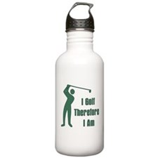 Gift for Golfing Dad Water Bottle