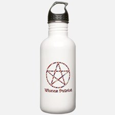 Wiccan Patriot Water Bottle