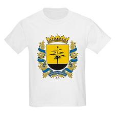 Donetsk Coat of Arms Kids T-Shirt