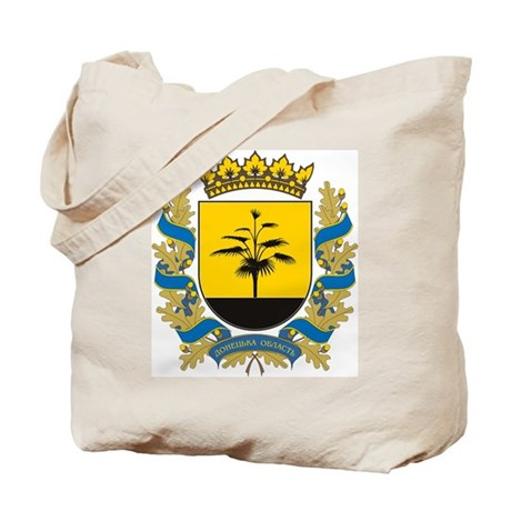 Donetsk Coat of Arms Tote Bag