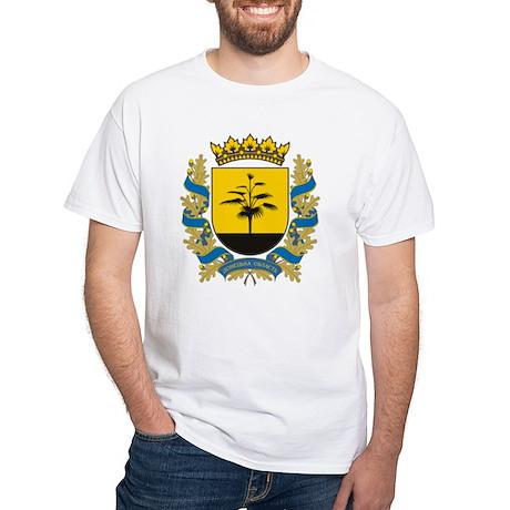 Donetsk Coat of Arms White T-Shirt