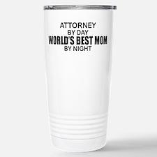 World's Best Mom - Attorney Travel Mug