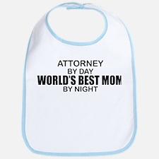 World's Best Mom - Attorney Bib