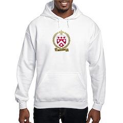 DUROEUSSEAU Family Crest Hooded Sweatshirt
