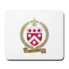 DUROEUSSEAU Family Crest Mousepad