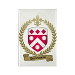 DUROEUSSEAU Family Crest Rectangle Magnet (100 pac