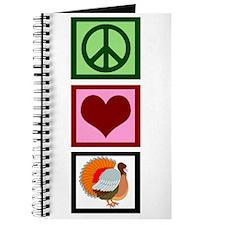 Peace Love Thanksgiving Journal