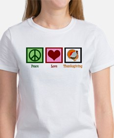 Peace Love Thanksgiving Tee