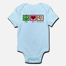 Peace Love Thanksgiving Infant Bodysuit