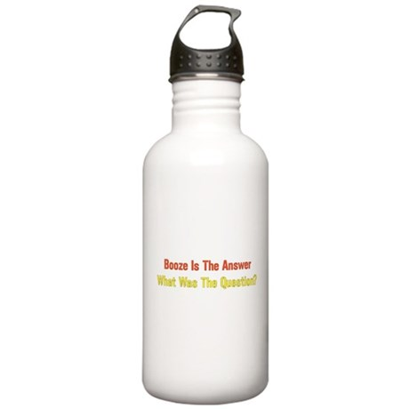 Booze Stainless Water Bottle 1.0L