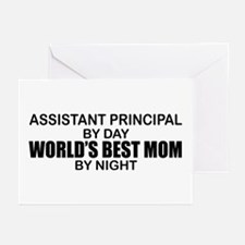 World's Best Mom - Asst Principal Greeting Cards (