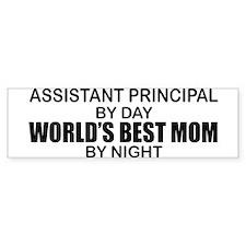 World's Best Mom - Asst Principal Bumper Sticker