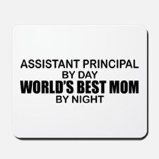 World's Best Mom - Asst Principal Mousepad