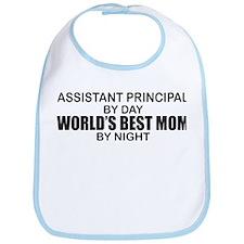 World's Best Mom - Asst Principal Bib