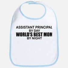 World's Best Mom - Asst Principal Bib