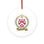 DUROUSSEAU Family Crest Ornament (Round)