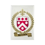 DUROUSSEAU Family Crest Rectangle Magnet (100 pack