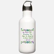 Be Kind Pindar Quote Water Bottle