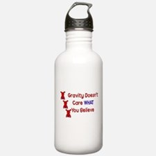 Gravity Doesn't Care Water Bottle