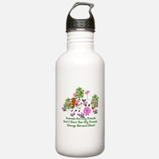 Shaw Anti-Meat Quote Water Bottle