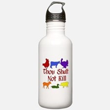 Thou Shalt Not Kill Water Bottle