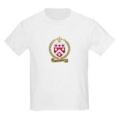 DUROUSSEAUX Family Crest Kids T-Shirt