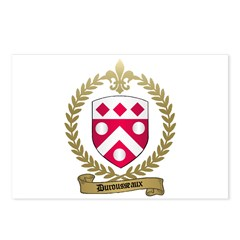 DUROUSSEAUX Family Crest Postcards (Package of 8)